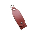 Picture of Swivel Leather USB Flash Drive