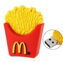 Picture of McDonald Fries Pattern USB Drive