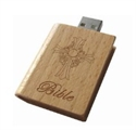 Picture of Wooden Bible USB Flash Drive