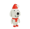 Picture of Santa Dog USB Flash Drive