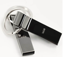 Picture of Metallic USB Flash Drive - Style Whistle